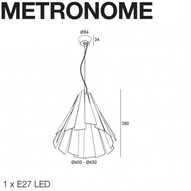 METRONOME BY DELTA LIGHT