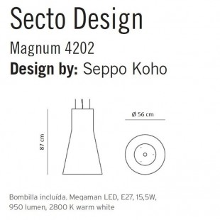 MAGNUM 4202 DE SECTO DESIGN