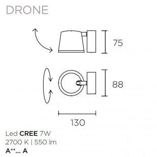 DRONE DE LEDS C4