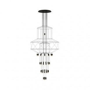 WIREFLOW CHANDELIER 0374 BY VIBIA