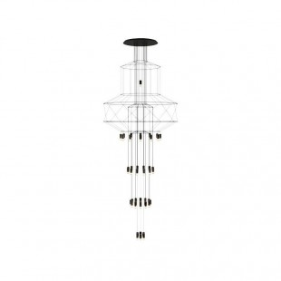 WIREFLOW CHANDELIER 0375 BY VIBIA