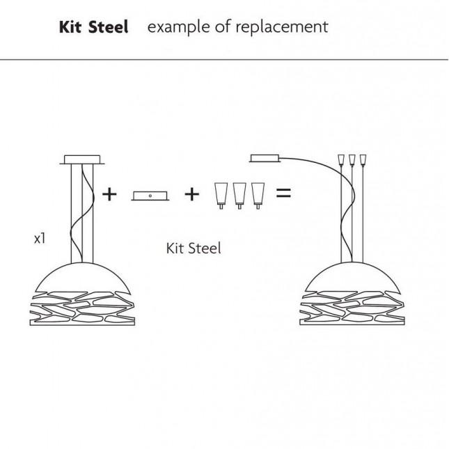 KIT STEEL KELLY / MAGGIO DE STUDIO ITALIA DESIGN