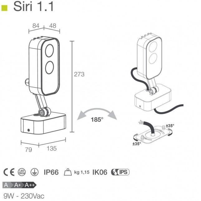 SIRI 1.1 BY LUCE & LIGHT