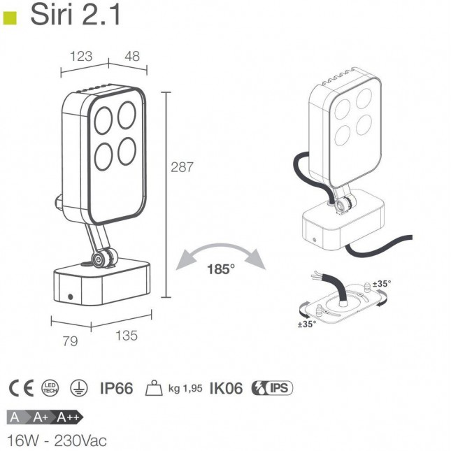 SIRI 2.1 BY LUCE & LIGHT