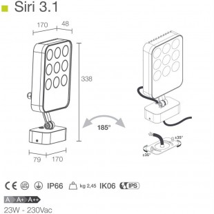 SIRI 3.1 BY LUCE & LIGHT
