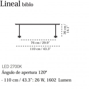 LINEAL BIBLO DE CARPYEN
