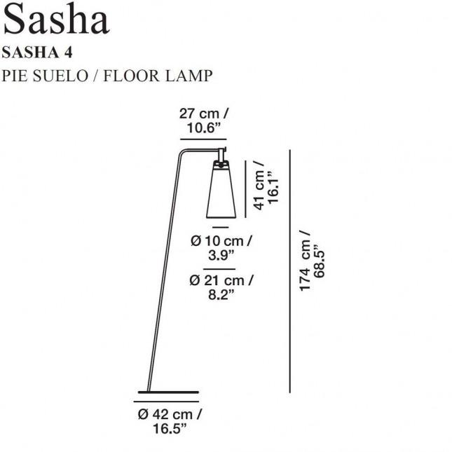 SASHA LAMPADAIRE DE CARPYEN