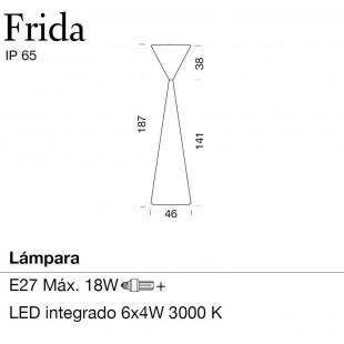 FRIDA LED BY METALARTE