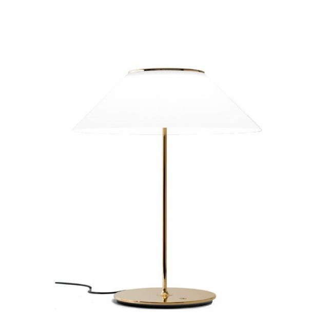 PAMELA LAMPE DE TABLE DE METALARTE
