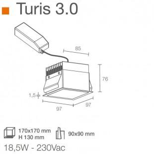 TURIS 3.0 DE LUCE LIGHT