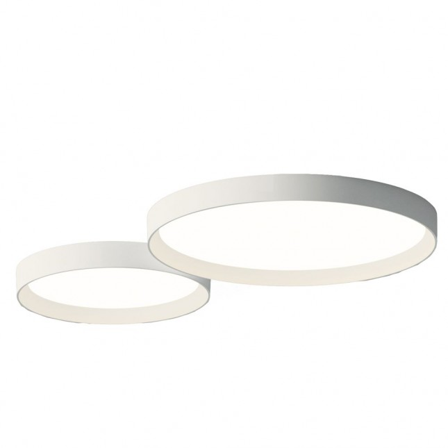 UP PLAFOND ROUND DOUBLE DE VIBIA