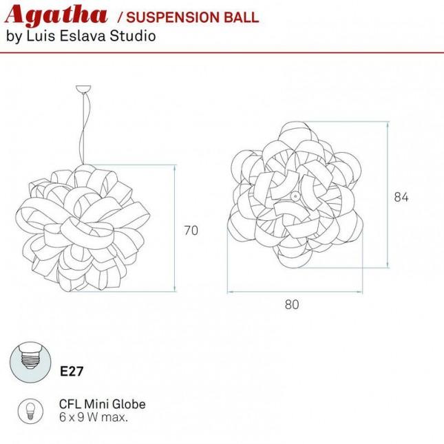 AGATHA BALL BY LZF