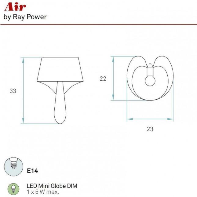 AIR WALL LAMP BY LZF