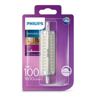 BOMBILLA R7S 118MM LED DE PHILIPS