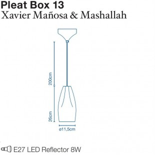 PLEAT BOX 13 DE MARSET