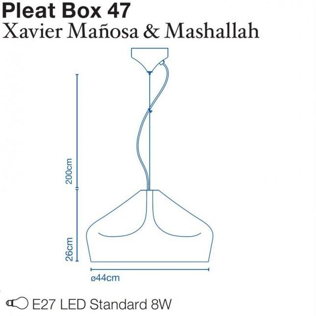 PLEAT BOX 47 DE MARSET