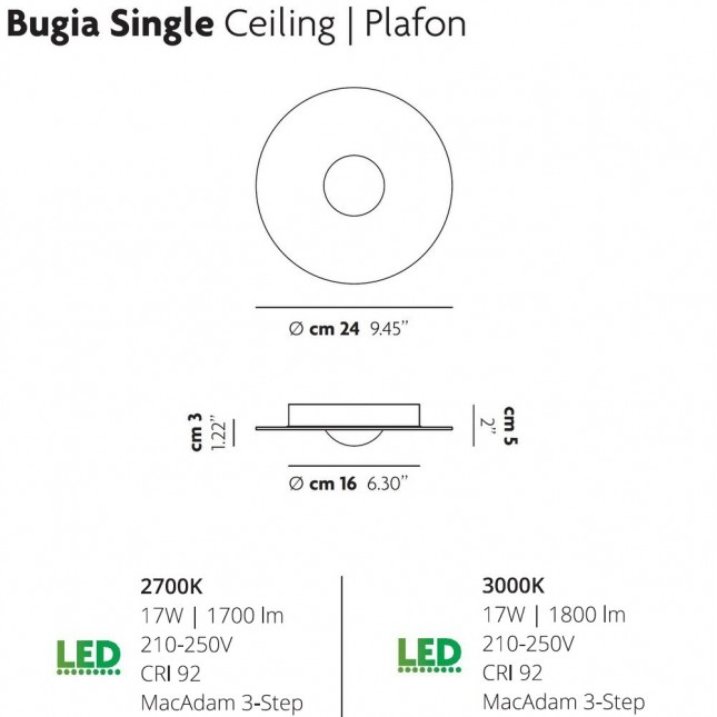BUGIA SINGLE BY LODES