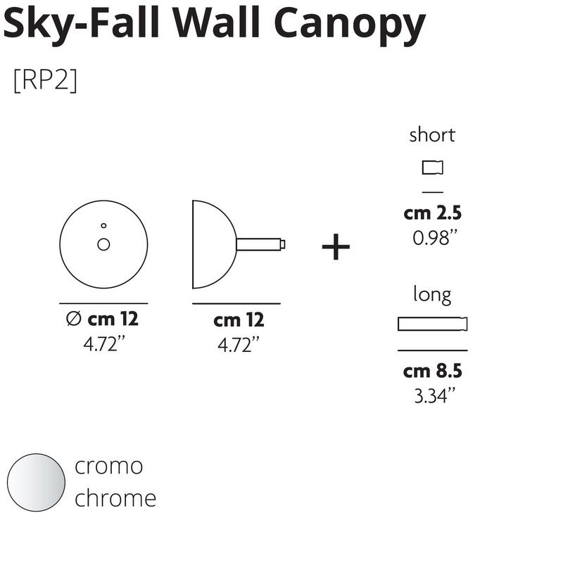 SKYFALL WALL BRACKET BY STUDIO ITALIA DESIGN