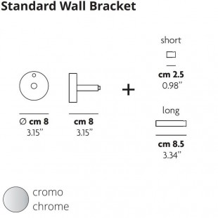 STANDARD WALL BRACKET BY LODES