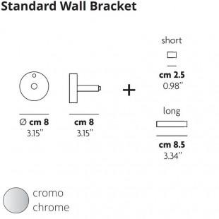 STANDARD WALL BRACKET BY STUDIO ITALIA DESIGN