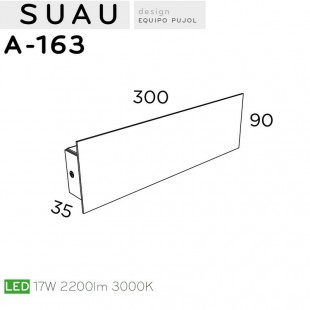 SUAU A-163 DE PUJOL ILUMINACION