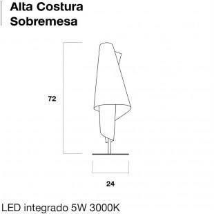 ALTA COSTURA SOBREMESA DE METALARTE