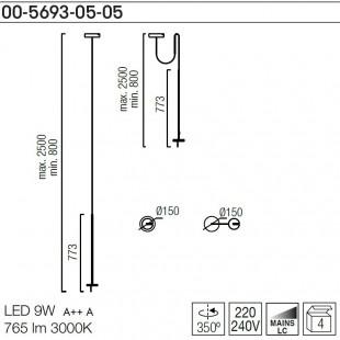 INVISIBLE 00-5693-05-05 DE LEDS C4