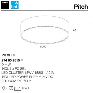 PITCH BY DELTA LIGHT