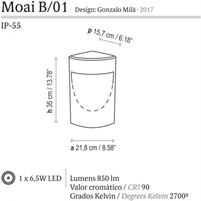 MOAI BY BOVER
