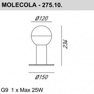 MOLECOLA 275.10.ONT DE IL FANALE