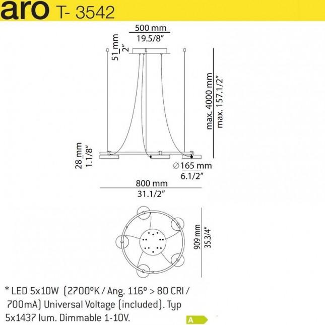 ARO T-3542 / T-3543 DE ESTILUZ
