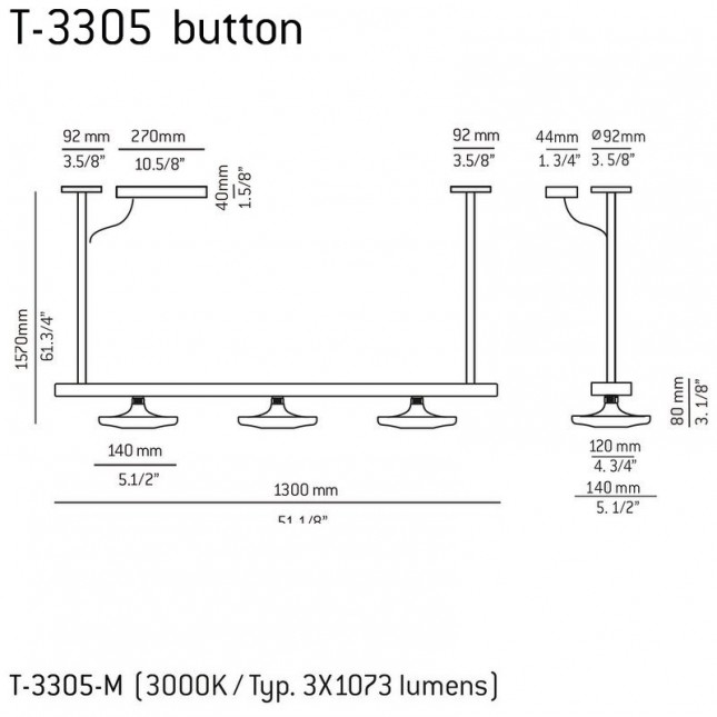 BUTTON T-3305 DE ESTILUZ