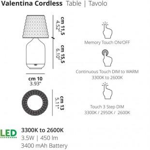 VALENTINA CORDLESS DE LODES