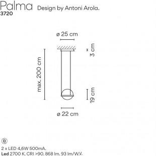 PALMA COLGANTE 3720 DE VIBIA