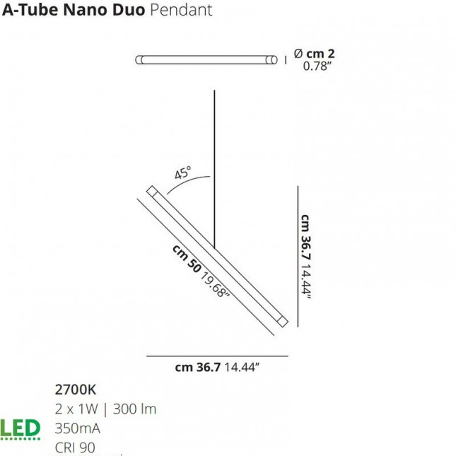 A-TUBE NANO DUO DE LODES