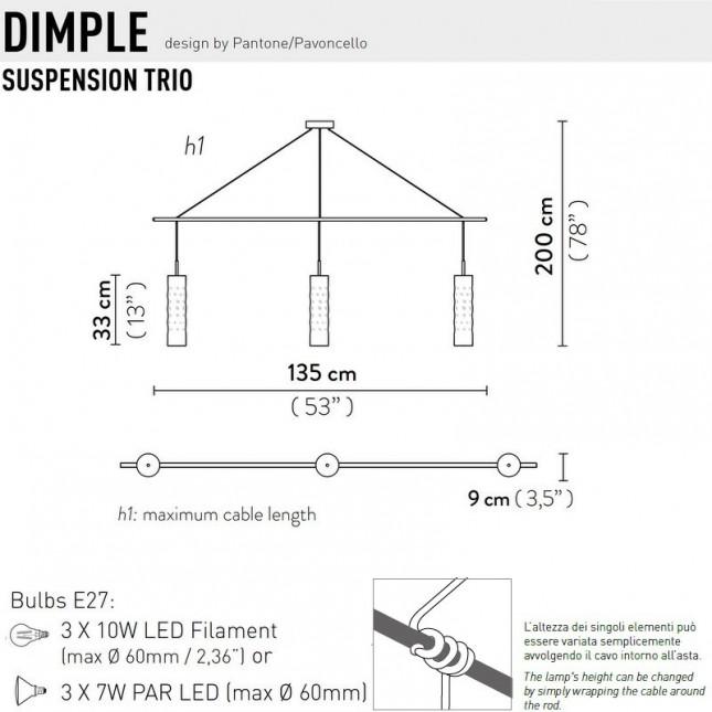 DIMPLE TRIO DE SLAMP