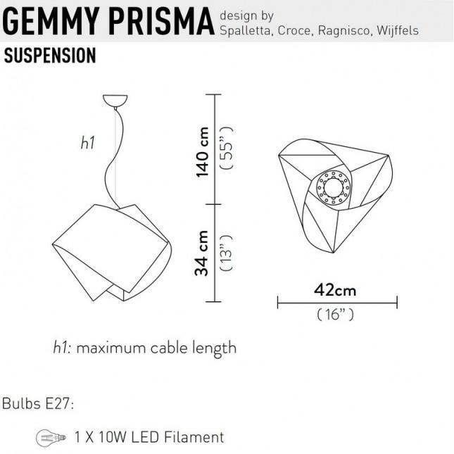 GEMMY PRISMA DE SLAMP