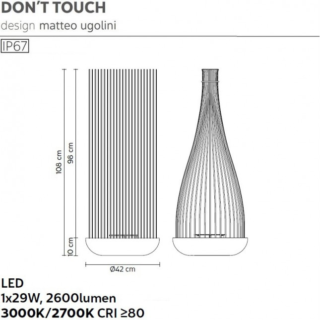 DON'T TOUCH OUTDOOR BY KARMAN