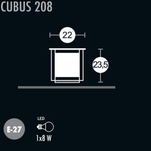 CUBUS 208 BORNE DE GREENART