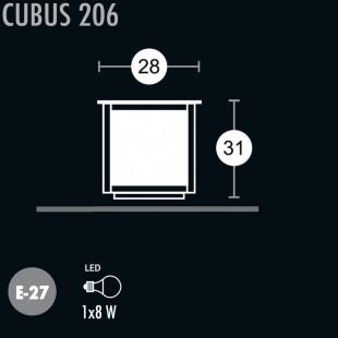 CUBUS 206 BORNE DE GREENART