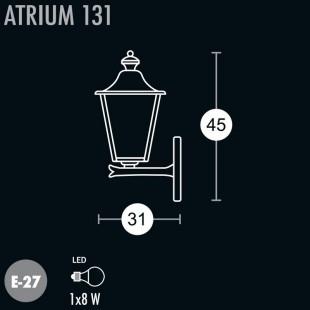 ATRIUM WALL LAMP 131 BY GREENART