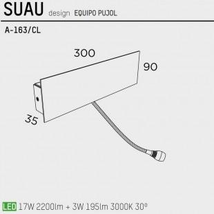 SUAU A-163/CL DE PUJOL ILUMINACION