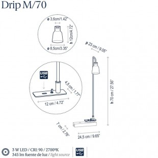 DRIP M/70 BY BOVER