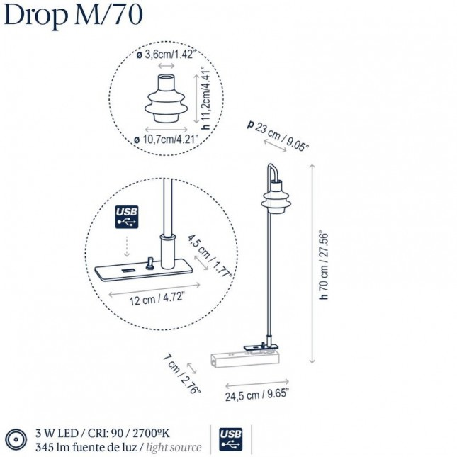 DROP M/70 BY BOVER