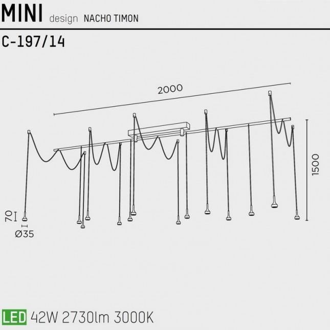MINI C-197/14 BY PUJOL ILUMINACION