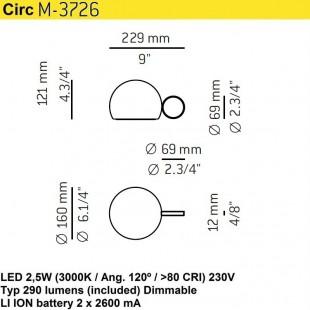 CIRC M-3726 BY ESTILUZ
