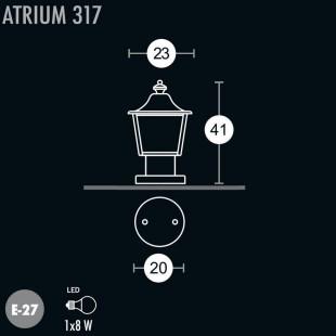 ATRIUM 317 LANTERN BY GREENART
