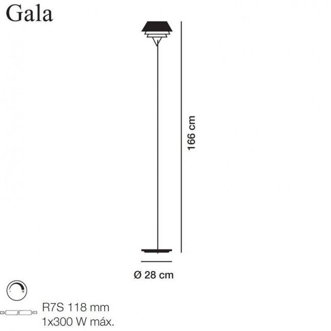 GALA LAMPARA DE PIE DE CARPYEN