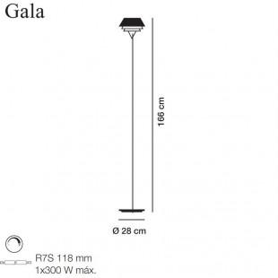 GALA LAMPADAIRE DE CARPYEN