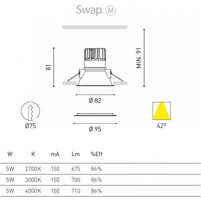 SWAP M 5W BY ARKOS LIGHT